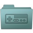 128x128px size png icon of Game Folder Willow