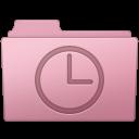 128x128px size png icon of History Folder Sakura
