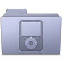 128x128px size png icon of IPod Folder Lavender