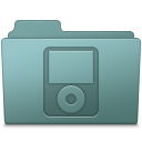 128x128px size png icon of IPod Folder Willow
