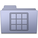 Icons Folder Lavender Icon