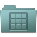 128x128px size png icon of Icons Folder Willow