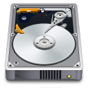 128x128px size png icon of Internal Drive Open