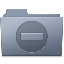 128x128px size png icon of Private Folder Graphite