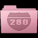 128x128px size png icon of Route Folder Sakura