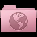 128x128px size png icon of Sites Folder Sakura
