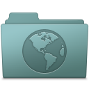 128x128px size png icon of Sites Folder Willow