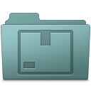 128x128px size png icon of Stock Folder Willow