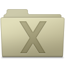 128x128px size png icon of System Folder Ash