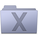 128x128px size png icon of System Folder Lavender