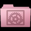 128x128px size png icon of System Preferences Folder Sakura