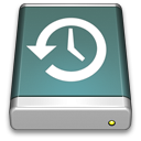 128x128px size png icon of TimeMachine Disk