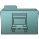 128x128px size png icon of Transmit Folder Willow