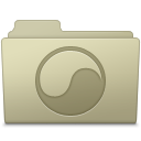 128x128px size png icon of Universal Folder Ash
