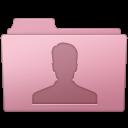 128x128px size png icon of Users Folder Sakura