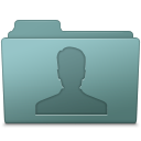 128x128px size png icon of Users Folder Willow