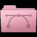 128x128px size png icon of Vector Folder Sakura
