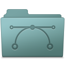 128x128px size png icon of Vector Folder Willow