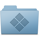 128x128px size png icon of Windows Folder Blue