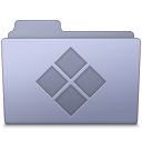 128x128px size png icon of Windows Folder Lavender