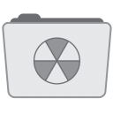 128x128px size png icon of Folder Burnable