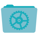 128x128px size png icon of Folder Utilities