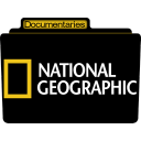 128x128px size png icon of Documentaries National Geographic