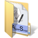 128x128px size png icon of applescripts