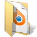 128x128px size png icon of blender files