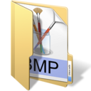 128x128px size png icon of bmp files