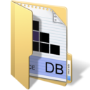 128x128px size png icon of database