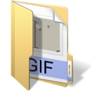 128x128px size png icon of gif files