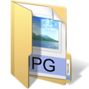 128x128px size png icon of jpg files