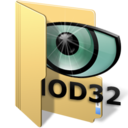 128x128px size png icon of nod32