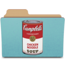 128x128px size png icon of warhol campbells can