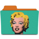 128x128px size png icon of warhol marilyn