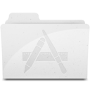 128x128px size png icon of ApplicationsFolderIcon White