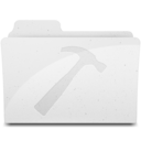 DeveloperFolderIcon White Icon