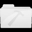 128x128px size png icon of DeveloperFolderIcon White