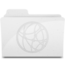 128x128px size png icon of GenericSharepoint White