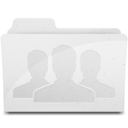 GroupFolder White Icon