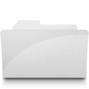 128x128px size png icon of OpenFolderIcon White