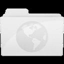 128x128px size png icon of SitesFolderIcon White
