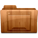 128x128px size png icon of Glossy Desktop