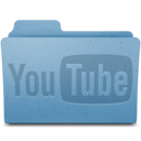 128x128px size png icon of YouTube Folder v1