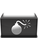 128x128px size png icon of Bomb  Kopie
