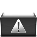 128x128px size png icon of Caution  Kopie