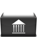 128x128px size png icon of Library  Kopie