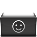 128x128px size png icon of Smile  Kopie