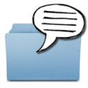 128x128px size png icon of TellingFolders